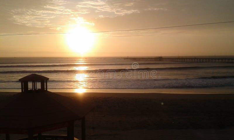 Pacasmayo beach royalty free stock photo
