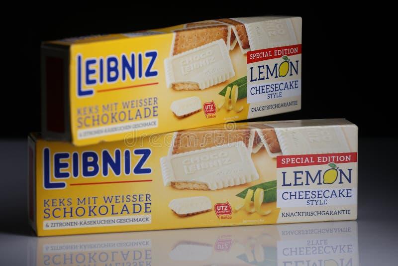 Pacchetti di Leibniz-Keks, marca tedesca immagini stock libere da diritti