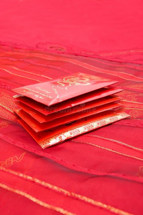 Pacchetti rossi fotografie stock libere da diritti