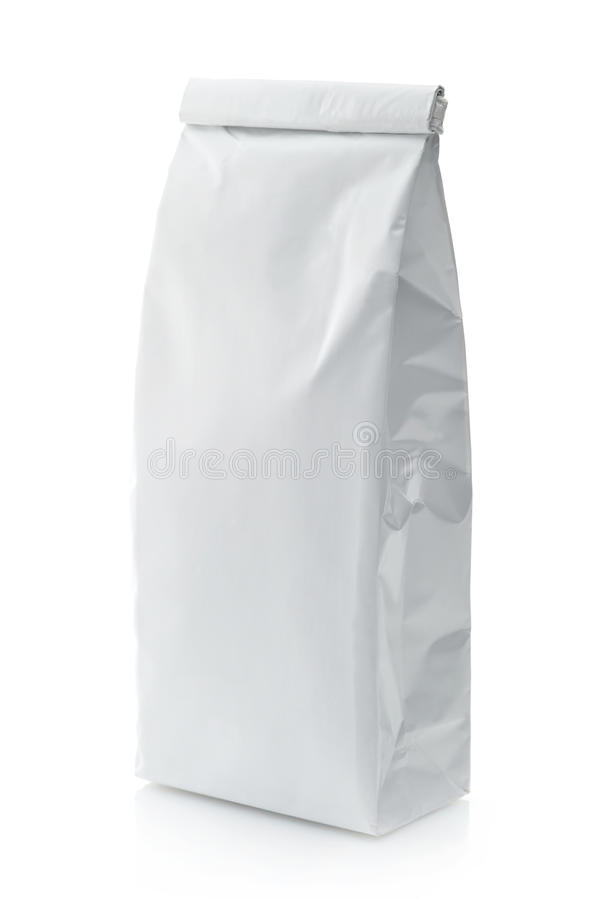 Pacchetto bianco fotografie stock libere da diritti