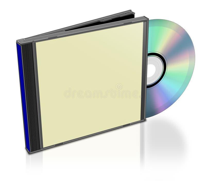 Pacchetto CD normale illustrazione di stock