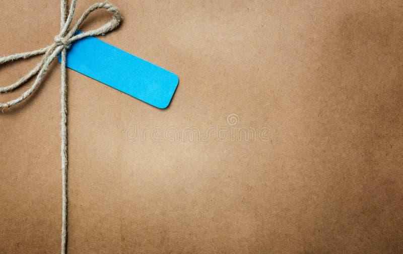 Pacchetto della carta di Brown fotografie stock
