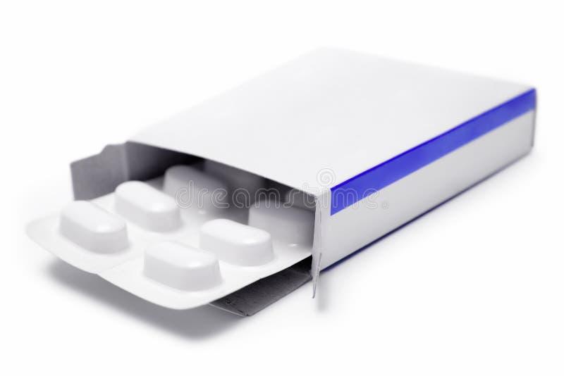 Pacchetto delle pillole immagini stock