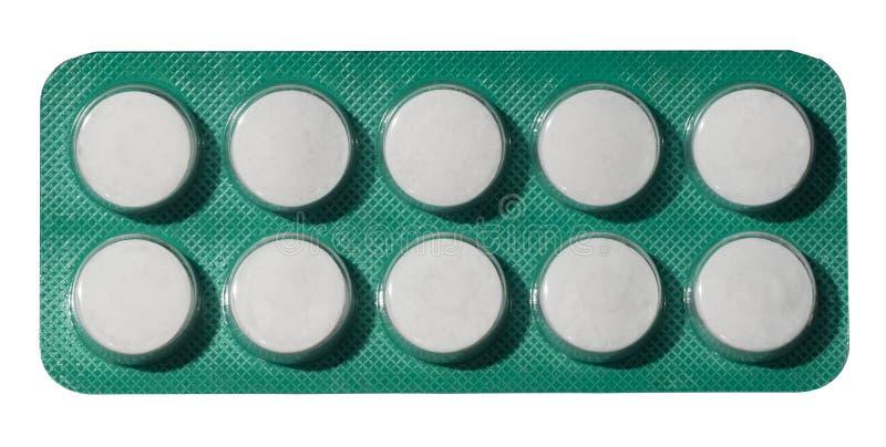 Pacchetto delle pillole fotografie stock libere da diritti