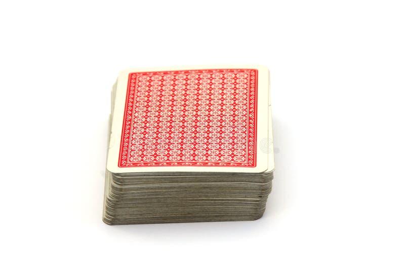 Pacchetto delle schede immagini stock libere da diritti