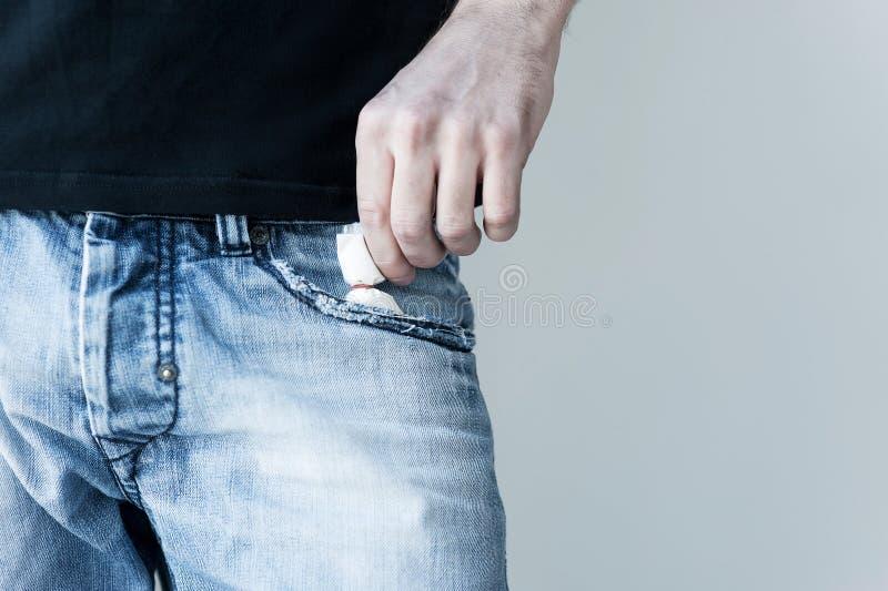 Pacchetto micidiale. immagine stock libera da diritti