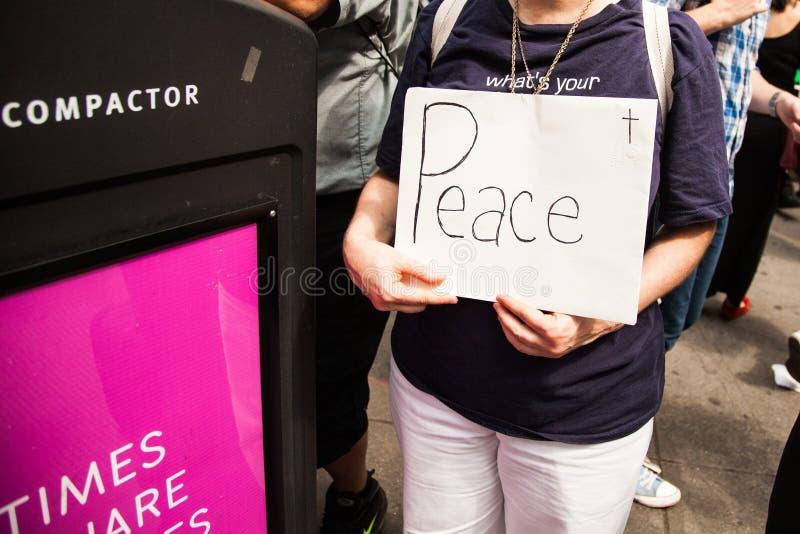 Pace immagine stock libera da diritti