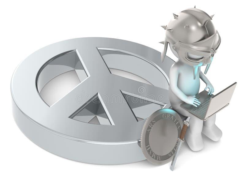 Pace astratta. royalty illustrazione gratis