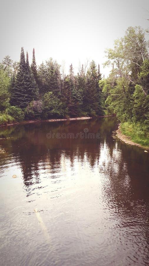 Pace del fiume immagini stock libere da diritti