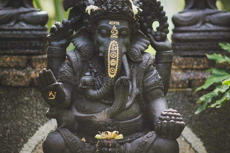 Pace di Bali dell'isola di ganesha della statua fotografie stock libere da diritti