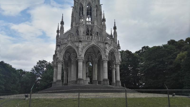 Pace di bellezza della natura del parco del Belgio fotografie stock libere da diritti