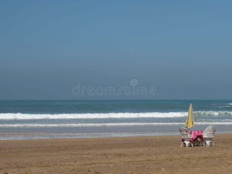 Pace e spiaggia fotografie stock libere da diritti