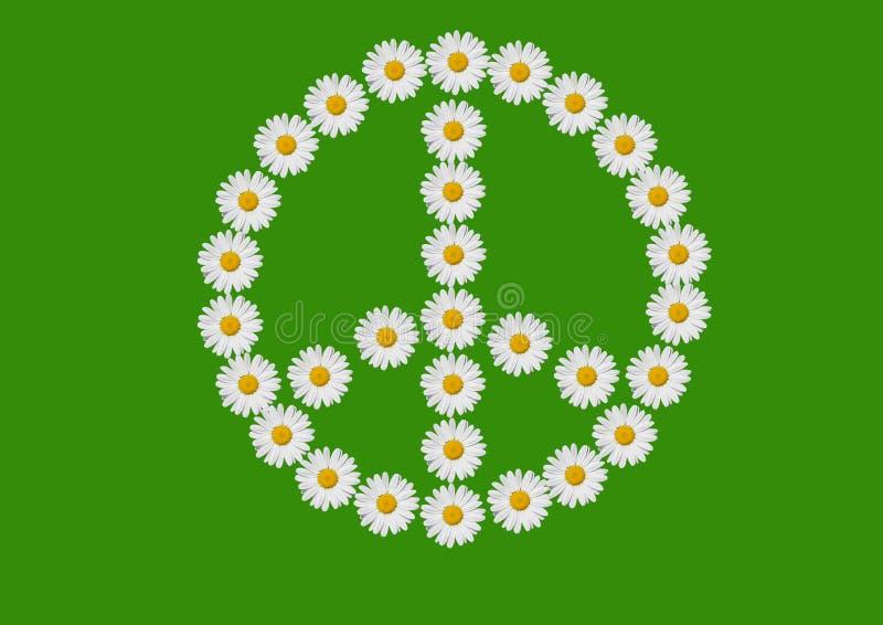 Pace ed amore illustrazione vettoriale