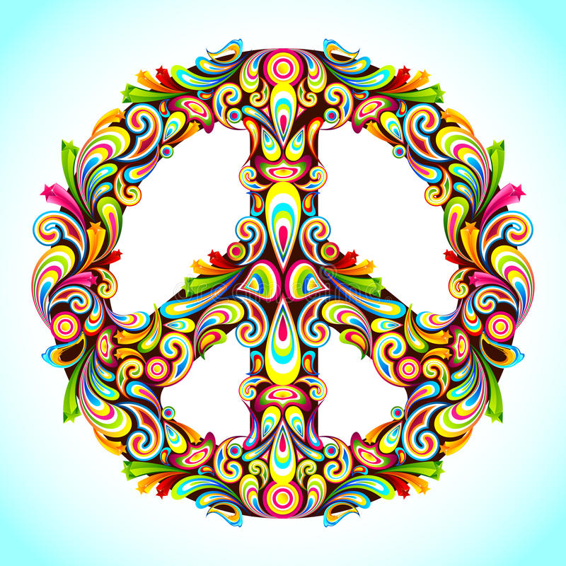 Pace variopinta royalty illustrazione gratis