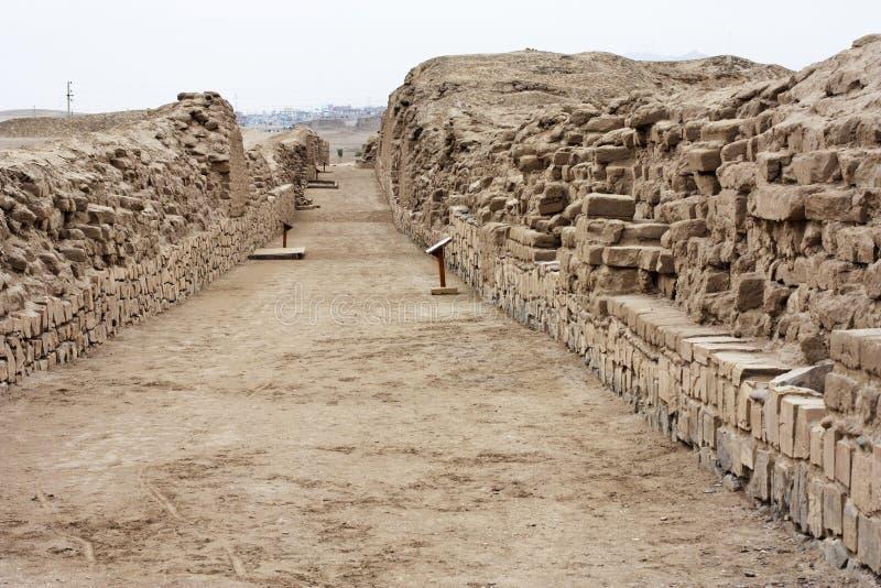 Pachacamac près de Lima Peru 22 image libre de droits