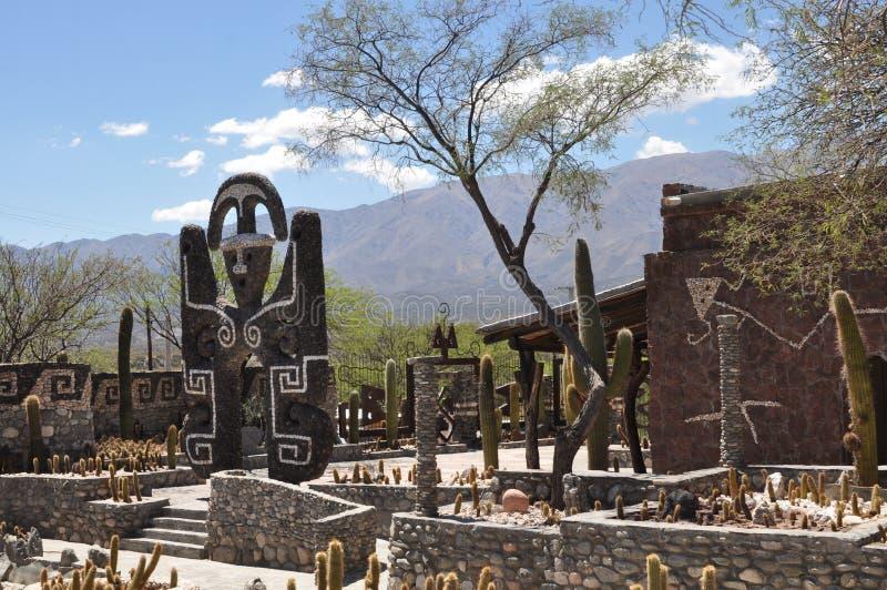 Pachamama museum i det Tucuman landskapet, Argentina fotografering för bildbyråer