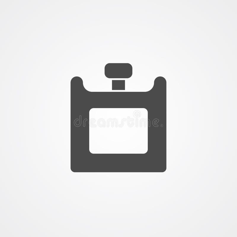 Pachnid?o ikony znaka wektorowy symbol ilustracji