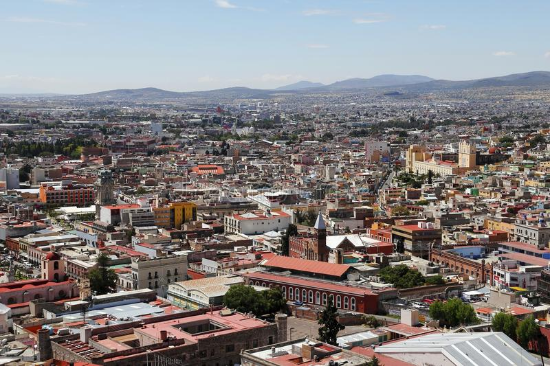 Pachuca I. Panoramic view of the pachuca city, capital of the mexican state of hidalgo stock photos