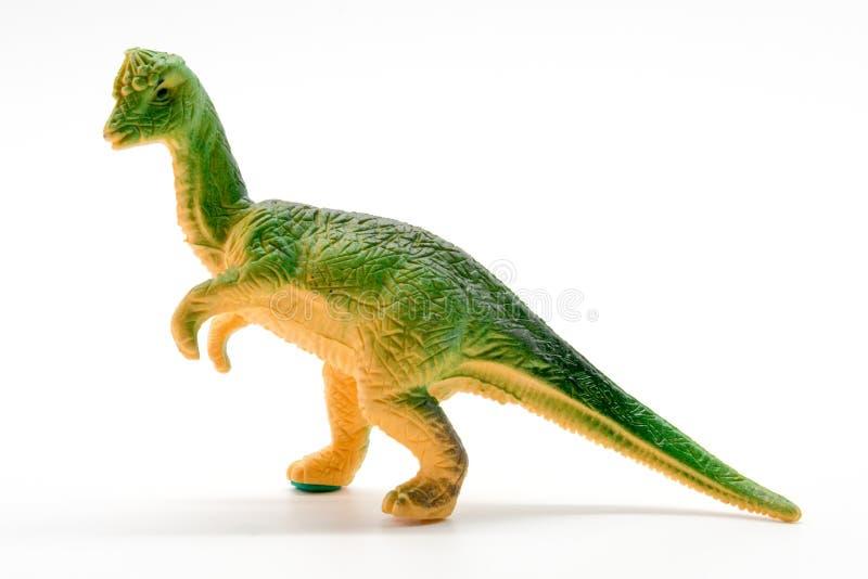 Pachycephalosaurus恐龙玩具模型 免版税库存图片