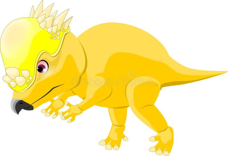 Pachycephalosaurus vector illustratie