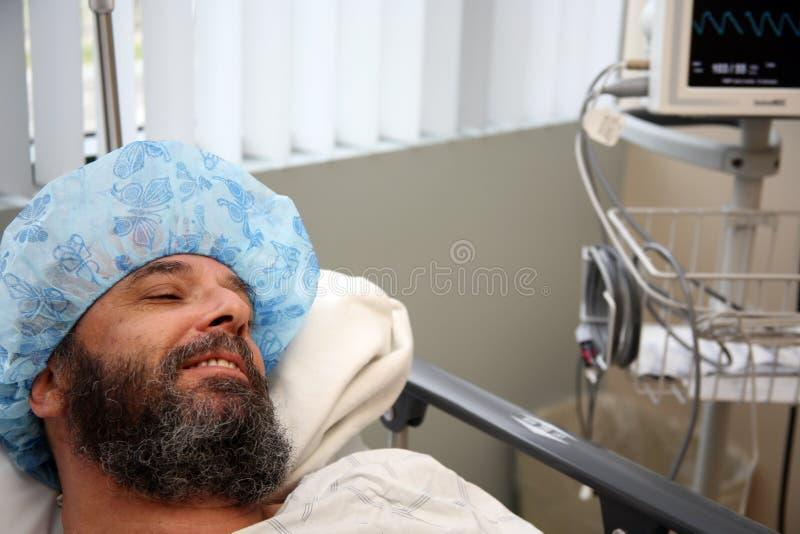 Paciente 1 de la cirugía foto de archivo libre de regalías