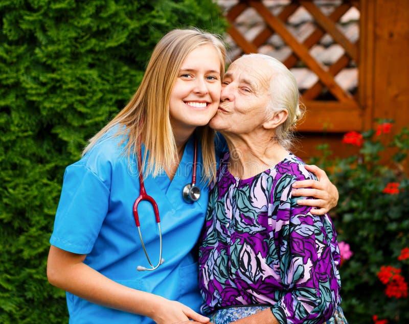 Paciente cariñoso imagen de archivo