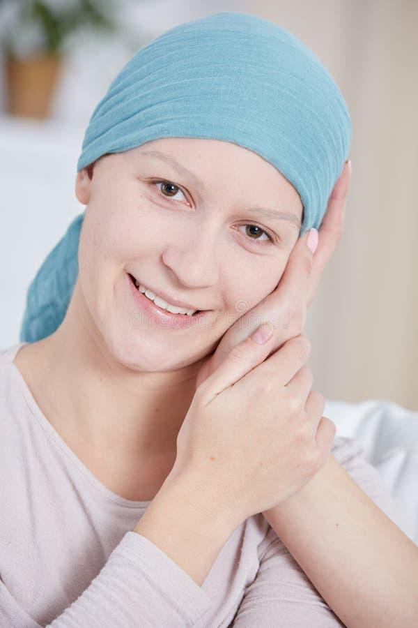Paciente com câncer imagem de stock royalty free