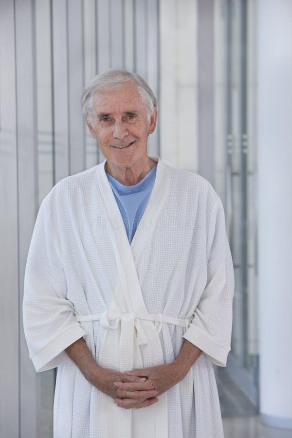 Paciente mayor imágenes de archivo libres de regalías