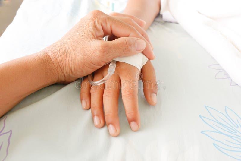 Pacientes da febre imagem de stock