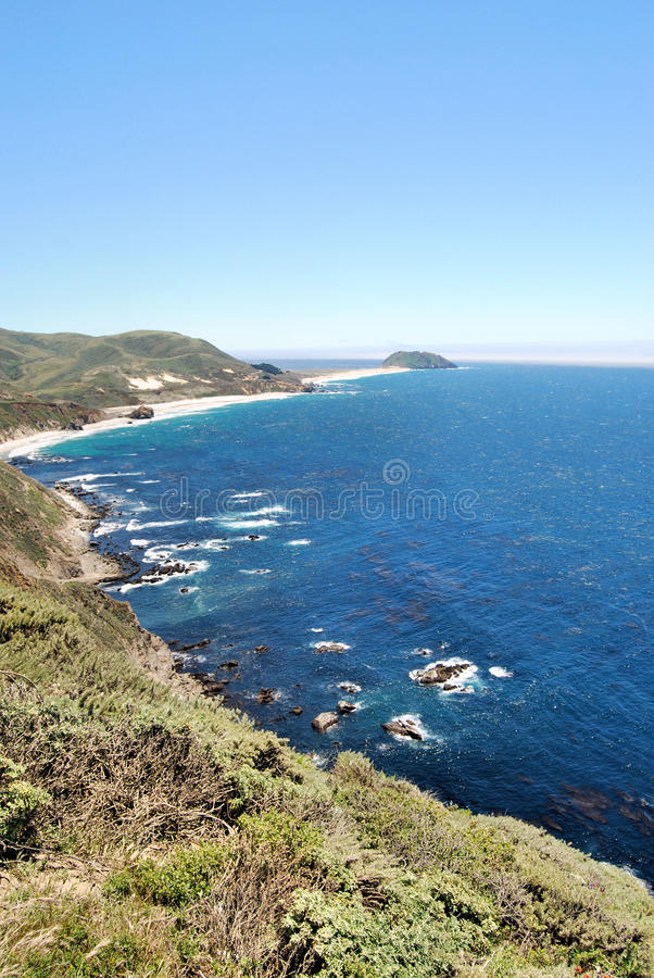 Download Pacific Coast Highway stock image. Image of hills, state - 15414505
