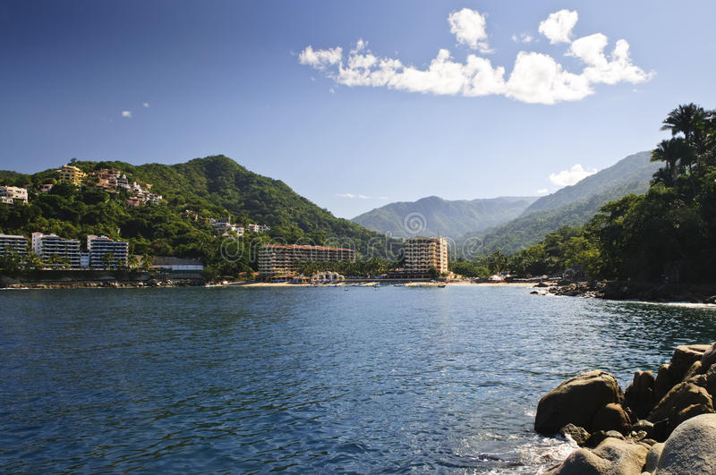 Download Pacific coast of Mexico stock image. Image of puerto - 13197237