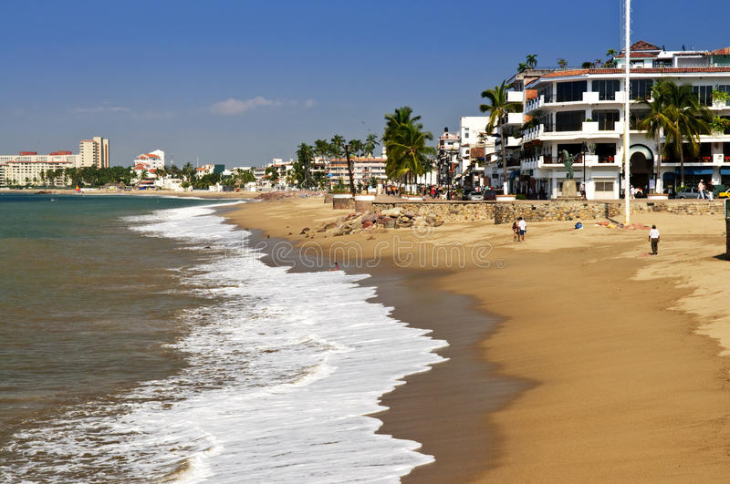Pacific Coast Of Mexico Royalty Free Stock Image