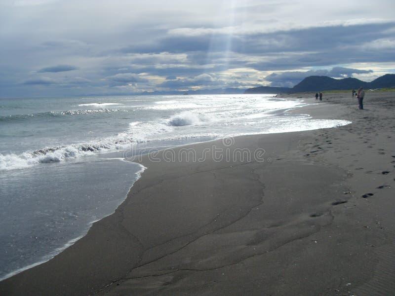 The Pacific coast. stock photo