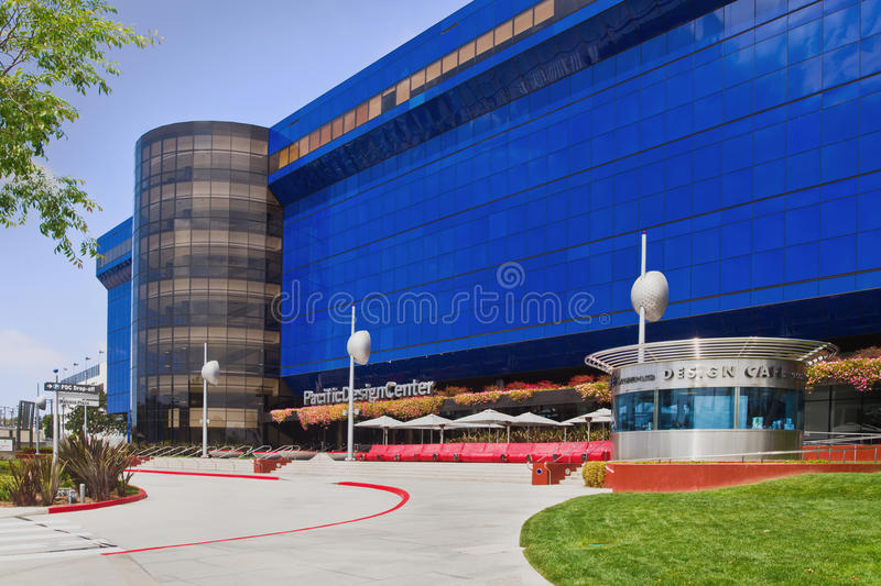 Pacific Design Center In Los Angeles Editorial Stock Image