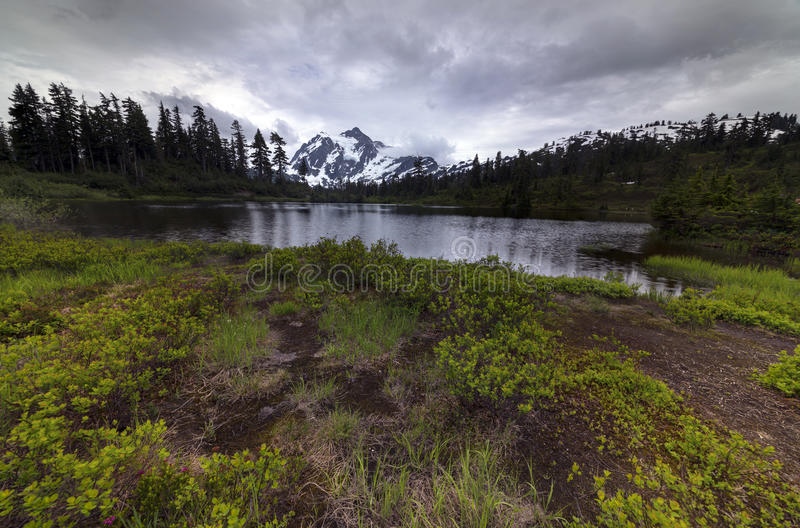 Pacific North West Washington State Hiking Climbing Landscape Waterscape Background stock photos