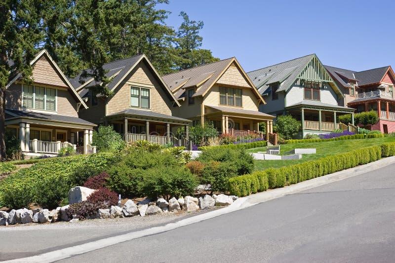 Download Pacific Northwest Neighborhood Stock Photo - Image: 15068858