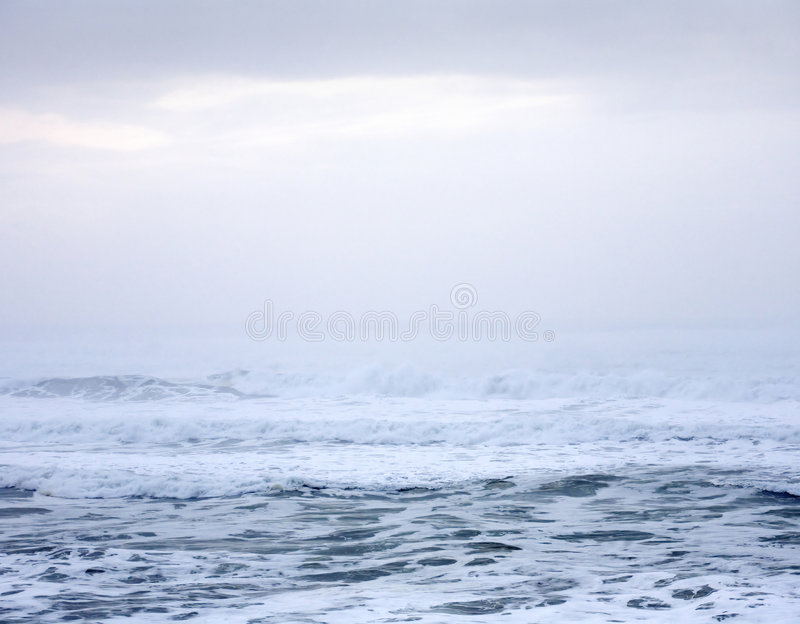 Pacific Ocean Abstract. Abstract photo of the surf of the Pacific Ocean stock photography