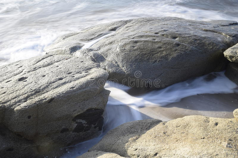Pacific Ocean, Chile. One of the best photos i`ve taken royalty free stock photo