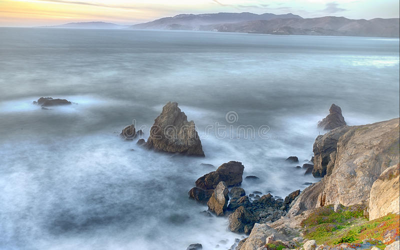 Pacific Ocean royalty free stock photo