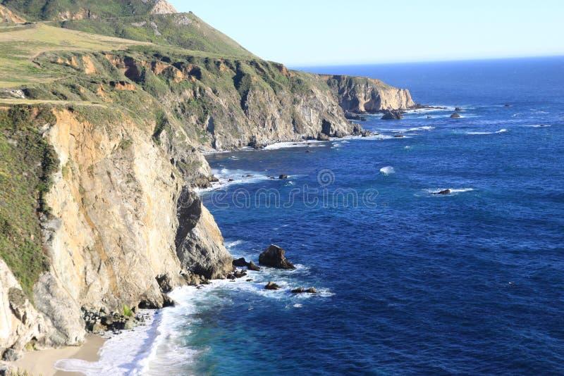 Pacific ocean view stock photos