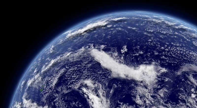Download Pacific ocean stock illustration. Image of globe, ocean - 37427100