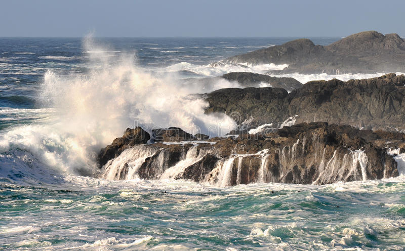 Download Pacific Ocean waves stock image. Image of columbia, rocks - 13238465