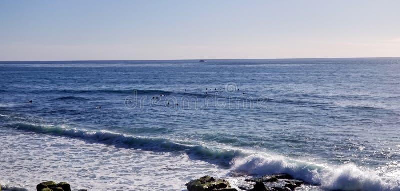 Seaside Series - Pacific Ocean Waves royalty free stock photo