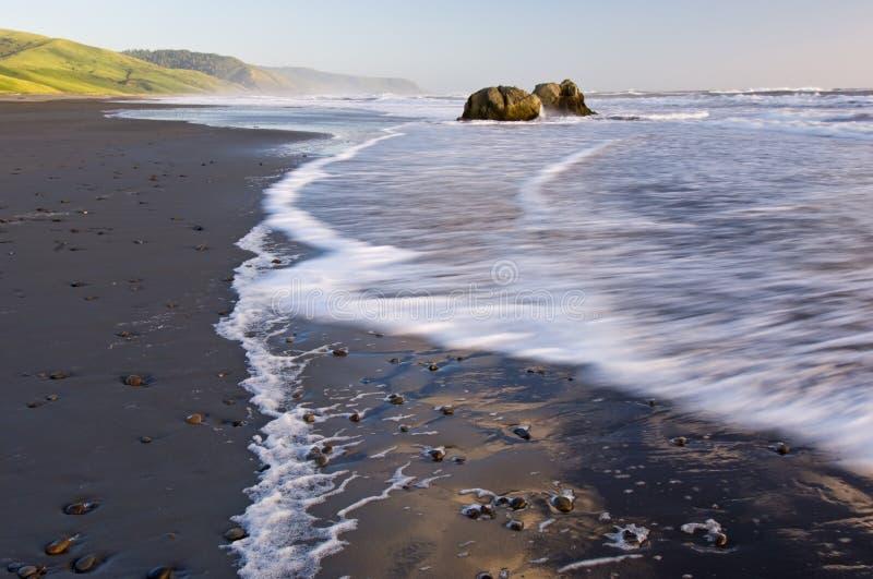 Pacific Shore California stock photo
