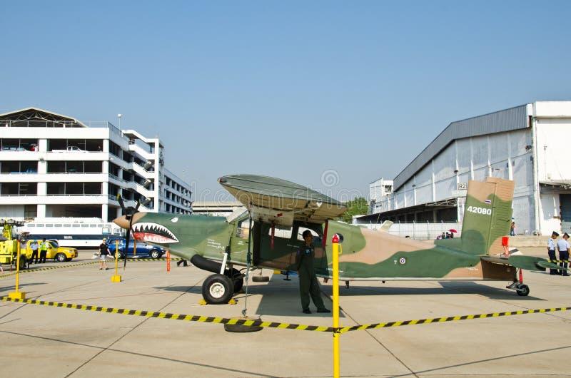 Pacificador de U-23A, avião de ataque do terrorista. imagem de stock royalty free