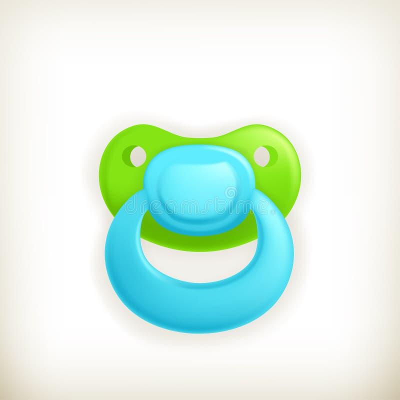 Pacifier, икона бесплатная иллюстрация