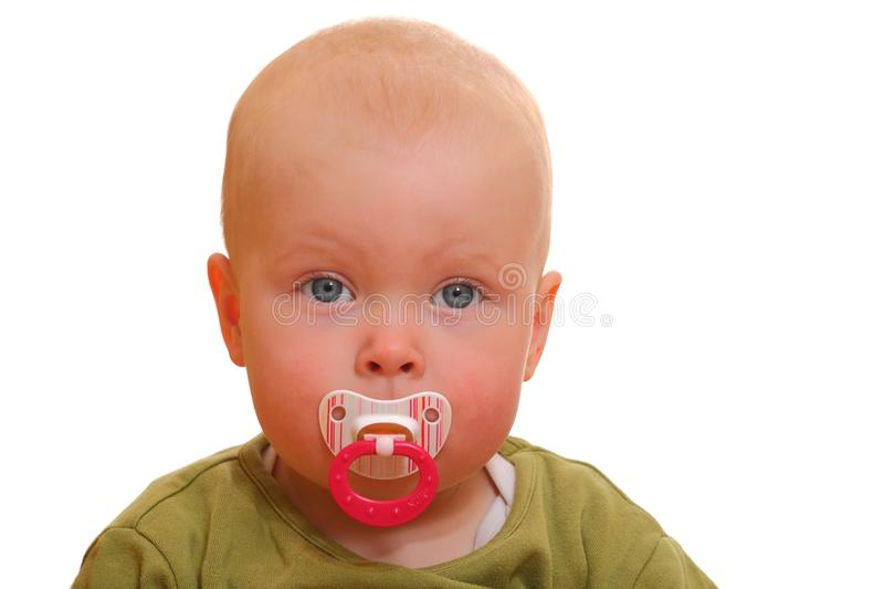 Download Pacifier stock photo. Image of eyes, closeup, expression - 19675346
