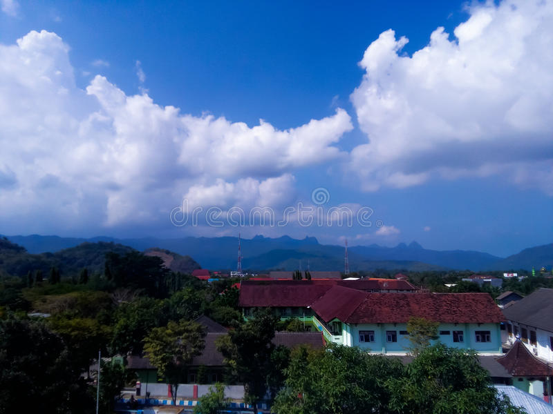 Pacitan Landscape View royalty free stock images