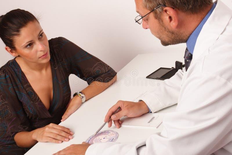 pacjent s biuro doktora