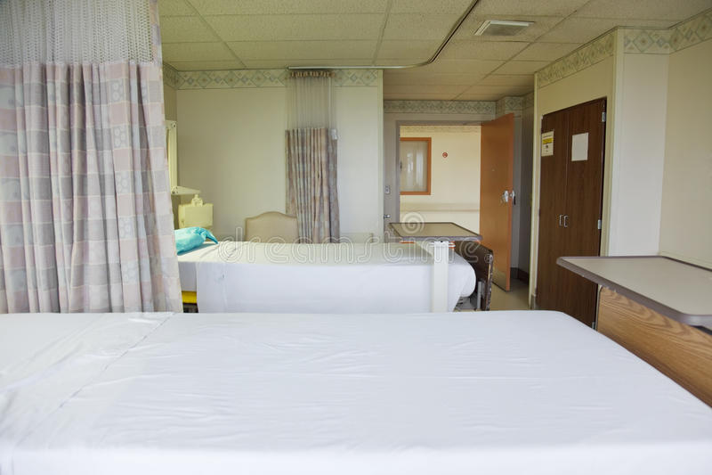 pacjenta szpitala pokój s obraz royalty free